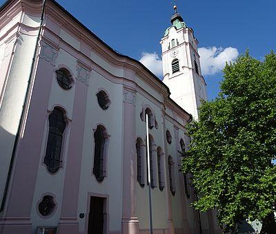 Frauenkirche in Günzburg von aussen